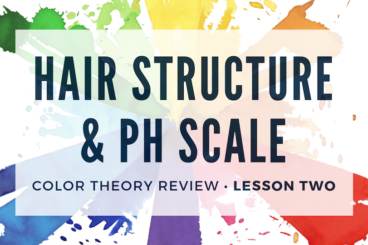 Hair Structure & pH Scale • $65